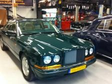 Polishing op locatie Bentley